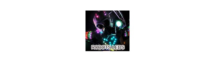 Robots lumineux