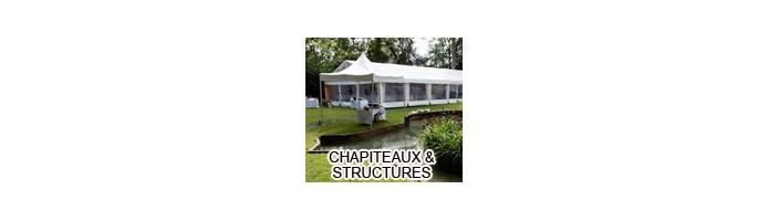 Chapiteaux et structure