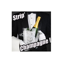 Strip champagne