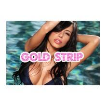 Gold strip